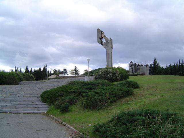 "Le monument ""Les défenseur de Stara Zagora"